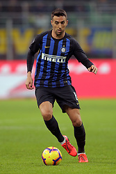 February 3, 2019 - Milan, Milan, Italy - Matias Vecino #8 of FC Internazionale Milano in action during the serie A match between FC Internazionale and Bologna FC at Stadio Giuseppe Meazza on February 3, 2019 in Milan, Italy. (Credit Image: © Giuseppe Cottini/NurPhoto via ZUMA Press)