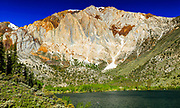 Eastern Sierra Mountains.  Laurel Mountain and Convict Lake