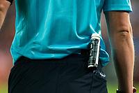 Referee's spray during match of UEFA Champions League at Vicente Calderon Stadium in Madrid. September 28, Spain. 2016. (ALTERPHOTOS/BorjaB.Hojas)