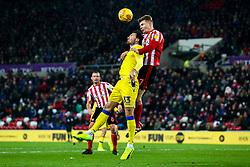 Alex Rodman of Bristol Rovers challenges Max Power of Sunderland - Mandatory by-line: Robbie Stephenson/JMP - 15/12/2018 - FOOTBALL - Stadium of Light - Sunderland, England - Sunderland v Bristol Rovers - Sky Bet League One