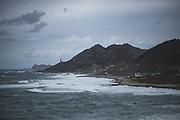 Cape Silleiro Lighthouse and As Mariñas village looking at Atlantic Ocean, Galicia, Spain Ⓒ Davis Ulands   davisulands.com