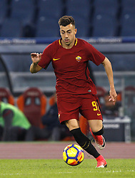 October 28, 2017 - Rome, Italy - Roma s Stephan El Shaarawy in action during the Serie A soccer match between Roma and Bologna at the Olympic stadium. (Credit Image: © Riccardo De Luca/Pacific Press via ZUMA Wire)