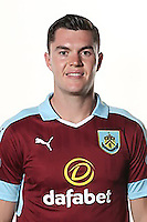 BURNLEY, ENGLAND - JULY 20:  Michael Keane of Burnley poses during the Premier League portrait session on July 20, 2016 in Burnley, England. (Photo by Barrington Coombs/Getty Images for Premier League)