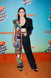 March 23, 2019 - Los Angeles, CA, USA - LOS ANGELES, CA - MARCH 23: Brianna Mazzola attends Nickelodeon's 2019 Kids' Choice Awards at Galen Center on March 23, 2019 in Los Angeles, California. Photo: CraSH for imageSPACE (Credit Image: © Imagespace via ZUMA Wire)