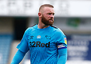Derby County's Wayne Rooney in action during EFL Sky Bet Championship between Millwall and Derby County at The Den Stadium, Saturday, June 20, 2020, in London, United Kingdom. (ESPA-Images/Image of Sport)