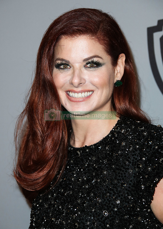 InStyle And Warner Bros. Pictures Golden Globe Awards After Party held at The Beverly Hilton Hotel on January 7, 2018 in Beverly Hills, Los Angeles, California, United States. 07 Jan 2018 Pictured: Debra Messing. Photo credit: Xavier Collin/Image Press Agency / MEGA TheMegaAgency.com +1 888 505 6342