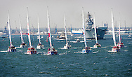 The start of the Clipper Race, Southampton.