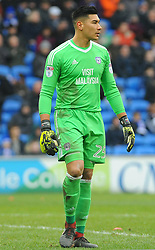 Neil Etheridge of Cardiff City - Mandatory by-line: Nizaam Jones/JMP- 13/01/2018 -  FOOTBALL - Cardiff City Stadium - Cardiff, Wales -  Cardiff City v Sunderland - Sky Bet Championship