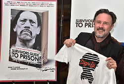 David Arquette attends the Survivors Guide to Prison premiere at The Landmark Theatre on February 20, 2018 in Los Angeles, California. Photo by Lionel Hahn/AbacaPress.com
