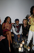 Kimora Lee Simmons and Russell Simmons. Karl Largerfeld hosts the launche of Dom Perignon Vintage 1998. Skylight Studios. 275 Hudson St. New York. 2 June 2005. ONE TIME USE ONLY - DO NOT ARCHIVE  © Copyright Photograph by Dafydd Jones 66 Stockwell Park Rd. London SW9 0DA Tel 020 7733 0108 www.dafjones.com