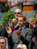 Photo: Glyn Thomas.<br />England v Paraguay. Group B, FIFA World Cup 2006. 10/06/2006.<br /> Prince William applauds the England team.