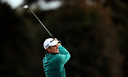 Justin Rose during day two of the British Masters at Walton Heath Golf Club, Surrey.