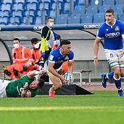 Roma 27/02/2021, Stadio Olimpico<br /> Guinness Six Nations 2021<br /> Italia vs Irlanda <br /> <br /> Jacopo Trulla