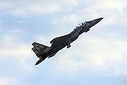 Israeli Air force IAF F-15I Fighter jet in flight.