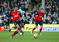 Fotball<br /> Premier League England 2004/2005<br /> Foto: BPI/Digitalsport<br /> NORWAY ONLY<br /> <br /> Fulham v Blackburn Rovers<br /> 27/11/2004<br /> <br /> Paul Dickov slots in the winner from the penalty spot for Blackburn