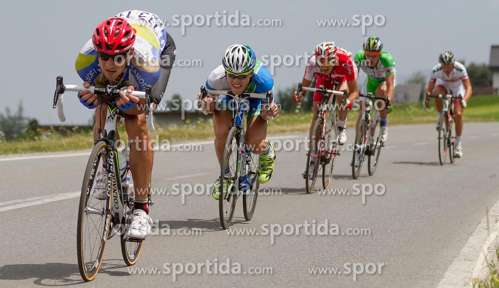 01.07.2012, Innsbruck, AUT, 64. Oesterreich Rundfahrt, 1. Etappe, EZF Innsbruck, im Bild Matthias Braendle (AUT) during the 64rd Tour of Austria, Stage 1, Individual time trial in Innsbruck, Austria on 2012/07/01