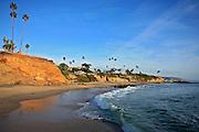 Laguna Beach California Coastline in Orange county