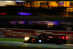 June 15, 2018 - Le Mans, Sarthe, France - G-Drive Racing ORECA 07 Gibson Driver ANDREA PIZZITOLA (FRA) in action during the 86th edition of the 24 hours of Le Mans 2nd round of the FIA World Endurance Championship at the Sarthe circuit at Le Mans - France (Credit Image: © Pierre Stevenin via ZUMA Wire)