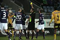 Fotball Tippeligaen 2011.<br /> 23.10.2011 Runde 27.<br /> Viking v Lillestrøm.<br /> Viking Stadion, Stavanger.<br /> <br /> Foto, Simon Rogers, Digital Sport.<br /> <br /> Viking. King Osei Gyan, Indridi Sigurdsson.<br /> Lillestrøm.