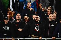 Tifosi Sparta. Supporters <br /> Roma 17-03-2016 Stadio Olimpico Football Europa League Round of 16 second leg 2015/2016 Lazio - Sparta Praha. Foto Andrea Staccioli / Insidefoto