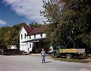 0722-03.  Illinois agricultural scene, 1940s,