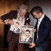 NLD/Amsterdam/20120503 - Lancering Rafael Magazine, Freek de Jonge en Rafael van der Vaart