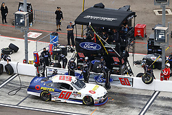 March 10, 2018 - Avondale, Arizona, United States of America - March 10, 2018 - Avondale, Arizona, USA: Austin Cindric (60) brings his car down pit road for service during the DC Solar 200 at ISM Raceway in Avondale, Arizona. (Credit Image: © Chris Owens Asp Inc/ASP via ZUMA Wire)