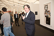 CHARLES SAATCHI, opening of the 2010 Frieze art fair. Regent's Park. London. 13 October 2010. -DO NOT ARCHIVE-© Copyright Photograph by Dafydd Jones. 248 Clapham Rd. London SW9 0PZ. Tel 0207 820 0771. www.dafjones.com.