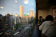 restaurant with view near Ikebukuro station Tokyo Japan