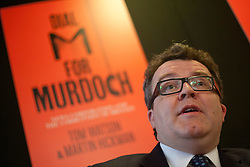 "© licensed to London News Pictures. London, UK. 19/04/2012. Labour MP Tom Watson at the signing of his new book ""Dial M for Murdoch: News Corporation and the Corruption of Britain""  at Central Hall Westminster, central London on April 19,2012. Photo credit: Tolga Akmen/LNP"