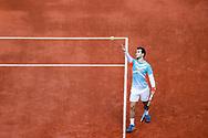 Hugo GASTON (FRA) during the Roland Garros 2020, Grand Slam tennis tournament, on October 4, 2020 at Roland Garros stadium in Paris, France - Photo Stephane Allaman / ProSportsImages / DPPI