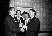 1965 - Soccer Writers Award presented at the Maples' Hotel, Dublin