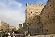 Israel, Jerusalem, Old city, Tower of David or David citadel