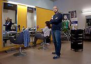 Emilia Romagna, Mirandola, Matteo Barbieri, parrucchiere.