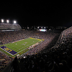 November 12, 2011; Baton Rouge, LA, USA;  A general view from the stands during the first quarter of a game between the LSU Tigers and the Western Kentucky Hilltoppers at Tiger Stadium.  Mandatory Credit: Derick E. Hingle-US PRESSWIRE