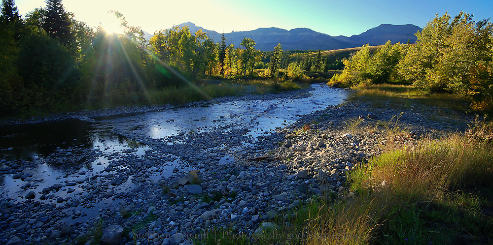 South Fork of the Two Medicine River, Montana
