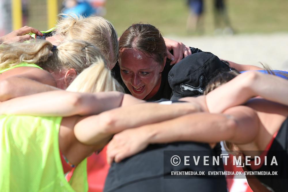 DM Kvalifikationsstævne i beach handball på Rødbillet Beach Tour 2016 på Salling Beach Arena, Roslev, 12.6.2016. (Allan Jensen/EVENTMEDIA).