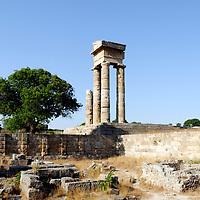 Rhodes Town Acropolis - Rhodes - Greece