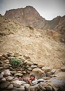 On the way and in Garam Cheshma village, near Khorog, capital of the Pamir and home of the Ismaili community.<br /> <br /> Tajikistan and the Tajik Pamir mountains (province of Gorno Badakhshan), summer 2009.
