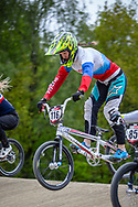 #116 (AFREMOVA Natalia) RUS during practice at Round 3 of the 2019 UCI BMX Supercross World Cup in Papendal, The Netherlands