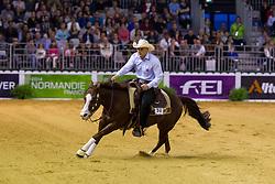 Volker Schmitt, (GER), Smokin Mifillena - Individual Final Comptetition - Alltech FEI World Equestrian Games™ 2014 - Normandy, France.<br /> © Hippo Foto Team - Leanjo De Koster<br /> 30-08-14