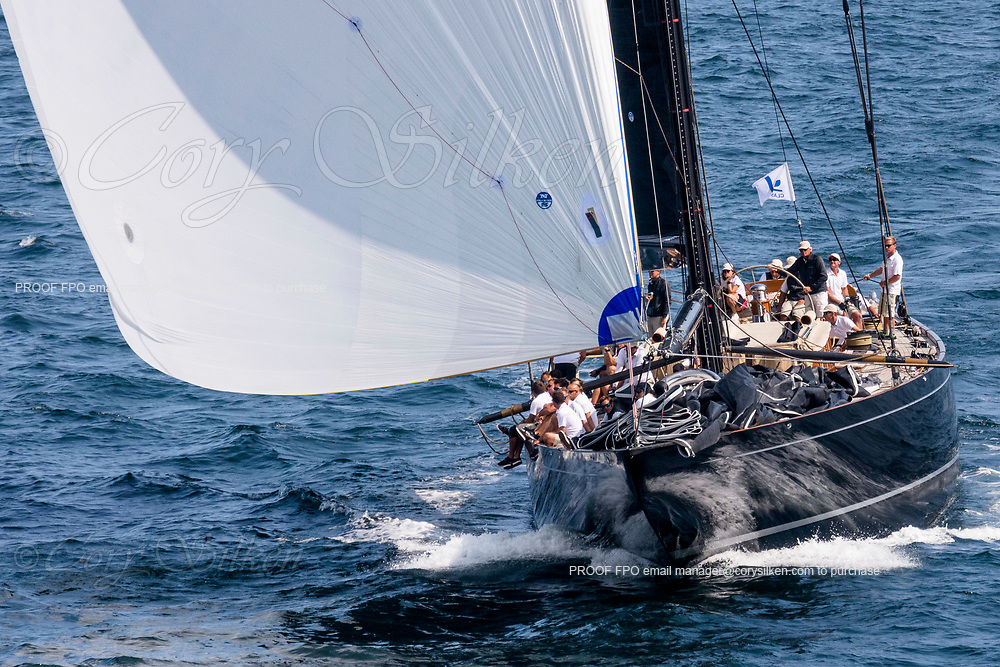 Lionheart sailing in the J Class World Championship, day five.
