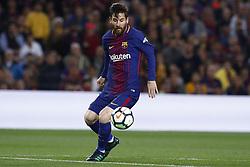 May 6, 2018 - Barcelona, Catalonia, Spain - May 6, 2018 - Camp Nou, Barcelona, Spain - LaLiga Santander- FC Barcelona v Real Madrid CF; Leo Messi of FC Barcelona controls the ball. (Credit Image: © Marc Dominguez via ZUMA Wire)