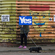 Voting day. Scottish Independence Referendum. 18 09 14