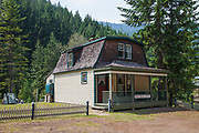 Old Bordello in Abandoned mining ghost town of Sandon, Slocan Valley, West Kootenay, British Columbia, Canada