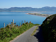 An old boreen road along Rossbeigh Strand, County Kerry on the Wild Atlantic Way.<br /> Photo: Don MacMonagle <br /> e: info@macmonagle.com