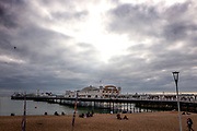 Brighton, Sussex, England. UK,  Sunday,  10/10/2021, General Views, Brighton's Palace Pier,, Seafront Area, England's South coast, [Mandatory Credit: Pete SPURRIER].