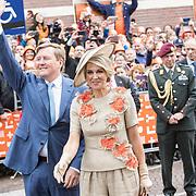 NLD/Amersfoort/20190427 - Koningsdag Amersfoort 2019, Konngin Maxima en Koning Willem Alexander