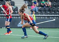 AMSTELVEEN - Anna Toman (Eng)  tijdens de wedstrijd dames , Ierland-Engeland (1-5) bij het  EK hockey , Eurohockey 2021.COPYRIGHT KOEN SUYK
