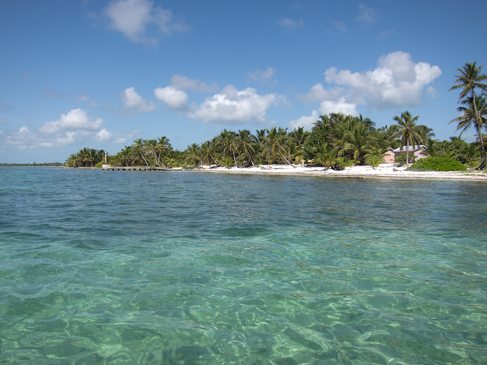 Ambergris Caye, Belize 8/31/2012.Development just south of us at Tranquility Bay..Alex Jones / www.alexjonesphoto.com